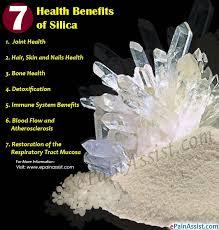 7 health benefits of silica