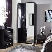 Bedroom Modern White High Gloss Bedroom Furniture White Gloss And ...