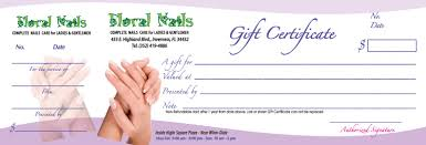 Customized Gift Certificates Song Hy Printing Gift Certificates