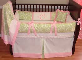 Pink And Green Home Decor Transform Baby Girl Bedding Pink And Green Great Home Decor