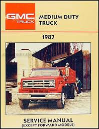 1987 gmc medium duty truck repair shop manual original 4000 7000 1979 gmc 7000 wiring diagram 1987 gmc medium duty truck repair manual original 4000 7000 1978 Gmc 7000 Wiring Diagram