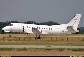 SP-MRB - Saab 340A QC operated by SkyTaxi taken by Niki Kapsamunov ...