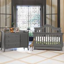 baby crib and dresser set. brilliant set million dollar baby 2 piece nursery set  ashbury 4in1 sleigh convertible  crib and combo dresser in manor grey free shipping intended and v