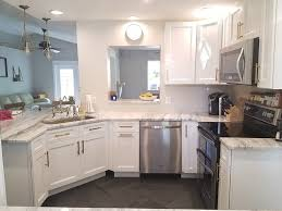 kitchen cabinets white.  Kitchen Rather Than Getting Cabinets That Mesh Perfectly With Your Home Design You  Will Be Forced To Settle On Something Merely Close Enough Throughout Kitchen Cabinets White