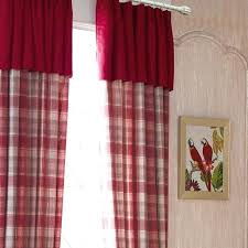 red plaid curtain luxury curtains for living room thick plaid ds for bedroom dinning room window red plaid curtain