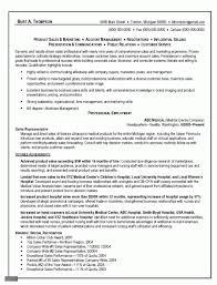 Sales Representative Resume Cover Letter Sales Representative