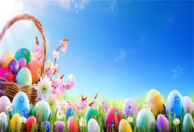Amazon Com Aofoto 8x6ft Colorful Easter Eggs Backdrop