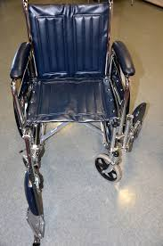 wheelchair with one leg rest removed
