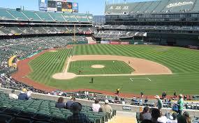 O Co Coliseum Seating Chart Baseball Best Seats For Oakland As At Oakland Coliseum