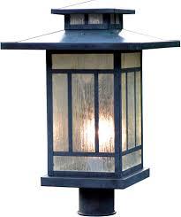 Arroyo Craftsman Post Lights Arroyo Craftsman Kp 12 Kennebec Craftsman Outdoor Light Post 15 625 Inches Tall