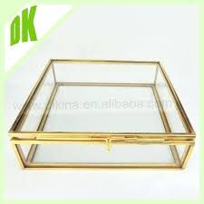 glass curio box supplieranufacturers at gold jewelry mirrored roll over image to zoom gold glass jewelry box