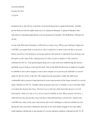 essay about being me old