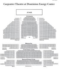 Seating Charts Dominion Energy Center Official Website