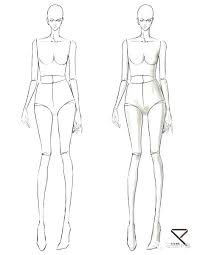 Sketching Templates For Fashion Design Awesome 8 Best Fashion Images