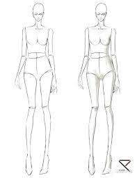 Fashion Sketch Template Fashion Illustration Template Sketch