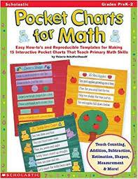 Amazon Com Pocket Charts For Math Grades Prek 2