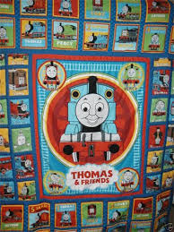 Thomas the Tank Engine : This is a single size quilt, but I have ... & Thomas the Tank Engine : This is a single size quilt, but I have used Adamdwight.com