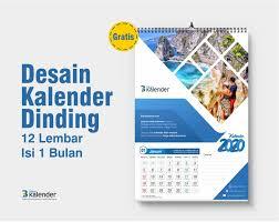 Kalender ini mulai banyak dicari pada penghujung tahun, biasanya digunakan. 5 Desain Kalender Dinding 2020 Gratis Keren Dan Unik