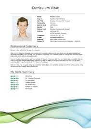 Resume Sample Doc 17 Free Cv Templates Flow Short1 Suiteblounge Com