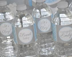 Decorating Water Bottles For Baby Shower Girls Baby Shower Water Bottle Labels It's A Girl Baby 2