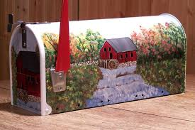 painted mailbox designs. Simple Painted Click To Enlarge Hand Painted Mailbox On Designs S