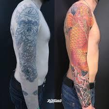 значение татуировки хризантема фото и эскизы тату хризантема