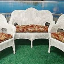 Indoor Chair Cushions For Wicker Furniture Replacement Feabdc