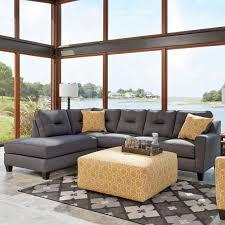 Benchcraft Kirwin Nuvella 2 Pc Raf Queen Sofa Sleeper Sectional