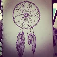 Colorful Dream Catcher Tumblr Drawn dreamcatcher hipster Pencil and in color drawn 92
