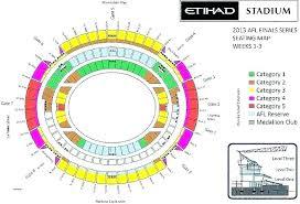11 Rare Etihad Stadium Level 1 Seating Map