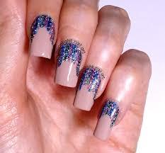 Easy Nail Polish Designs Tutorial Easy Holo Glitter Stripes Nail Art Design Tutorial