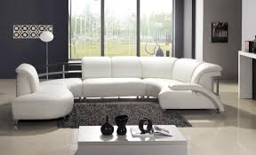 grey leather living room furniture. living room. contemporary white leather sofa on grey shaggy rug closed to optica opal room furniture