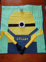 Mega-Minion Quilt | Suzanne Pass & Extras that need to be added to the quilt: Adamdwight.com