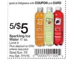 Sparkling Image Coupons Free Sparkling Ice Water Moneymaker At Walgreens Ftm