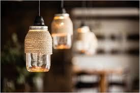 rope wrapped mason jar lights