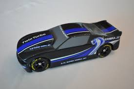 pinewood derby race cars pinewood derby car mustang style racer car body only pinewood