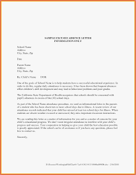 Letter Of Absences Sample Medical Certificate For School Absence Best Of Absent