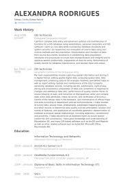 Gis Technician Resume Samples - Visualcv Resume Samples Database