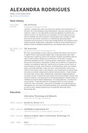 gis resume sample
