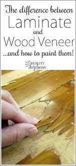 laminate wood veneer how to paint