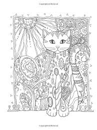 Small Picture 35 best Creative cats colouring pages images on Pinterest