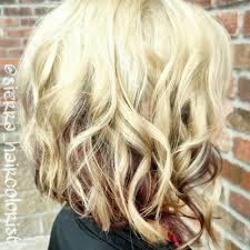 Hairstyles Medium Blonde Highlights Hairstyles Heavy On Brown Hair