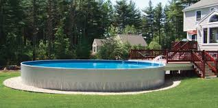 sunken above ground swimming pools. Exellent Swimming On Sunken Above Ground Swimming Pools W