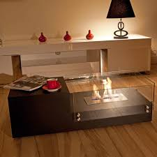 furniture gorgeous fire pit coffee tables bring a warm feel inside the house decordat awesome home interior decoration ideas