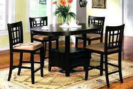 tall round end table small side