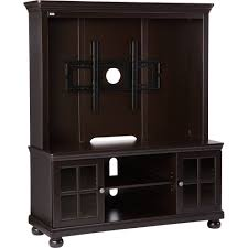 details about better homes and gardens espresso tv stand with hutch for tvs up to 50