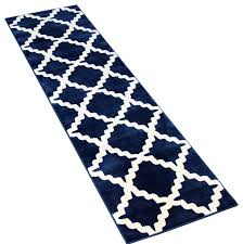 beautiful navy blue runner rug with trellis runner contemporary hall and stair runners cozy rugs