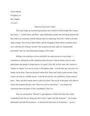 of mice and men reaction essay example emily johnson h english  2 pages reaction essay 2 example