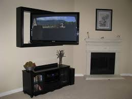 flat screen framing project gallery custom tv frame projects regarding wall mounted tv design 6