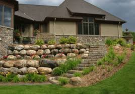Small Picture Southview Design Outdoor Living 17 boulder and stone retaining